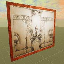 Design for a Fireplace Alphonse Mucha 3