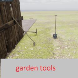 garden tools (3 item)
