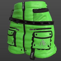 REXO SKIRT_ LIGHT GREEN_