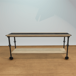 Birch Wood Large Console