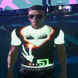 [INTOXICATED[ mens Area 51 shirt FREE!