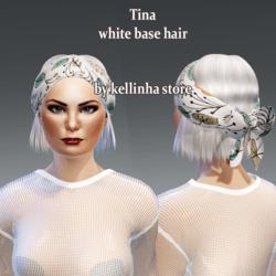 tina white base hair