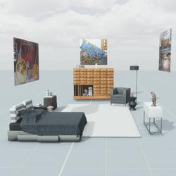 Visions Bedroom (full furnishings)
