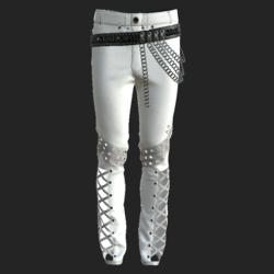 YANO PANTS WHITE