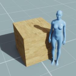 Block - Cube (1m, 1m, 1m)