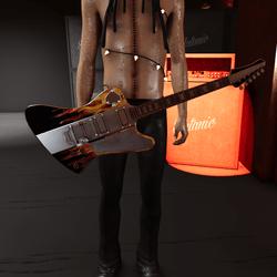 Slatan-o-lux guitar (Spades)