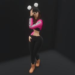 Supermodel Pose 12