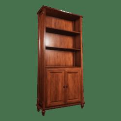 Bookshelf cabinet empty