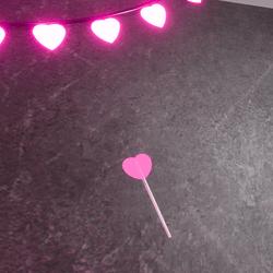 heart wand uwu