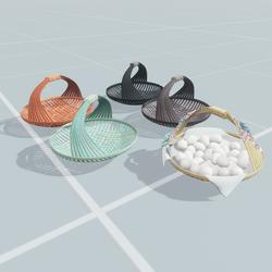 Round Hand Baskets