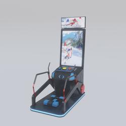 Ski Game Cabin