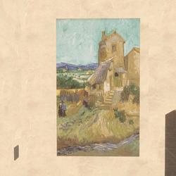 Art - The Old Mill 1888 Van Gogh