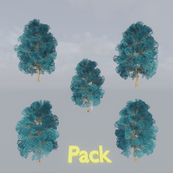 Maple Tree pack Blue
