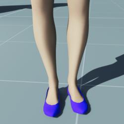 BLUE VELVET Stylish Classic High Heel Shoes