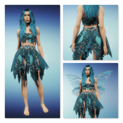 Forest Fae - Teal
