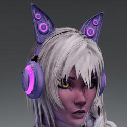 Anubis headphones PRPL