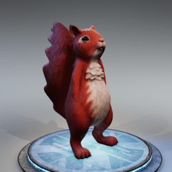 Squirrel - Flame Red