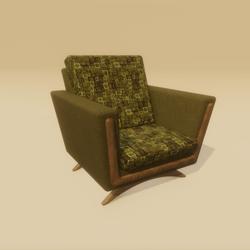 Mid Century Atomic Age Chair
