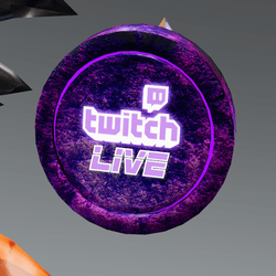 Twitch Live Headsign