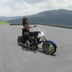 sit on bike emote