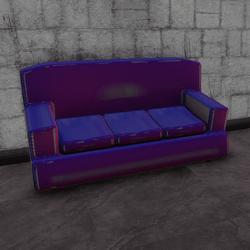 Cafe couch - holo E (3 seats)