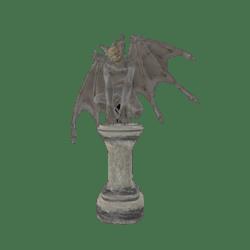 Melancholic Gargoyle Statue