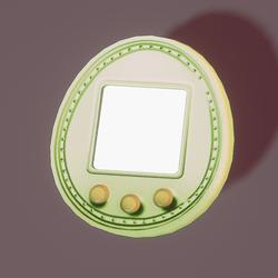 Tamagotchi 5u green