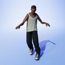 Zombie Hip Hop (M)
