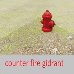 counter fire gidrant