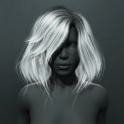 Kelsey Hair - Gray (Women's)