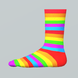 Pride socks for girls