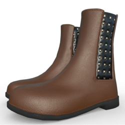 Jensen ankle boots for woman Brown
