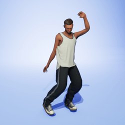 Shuffle Dance 4 [quick] (M)