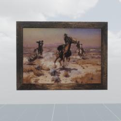 Far west painting n° 2