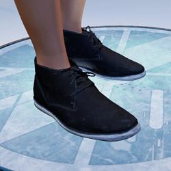 TKA Black safari boots ( man )