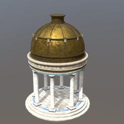 Ancient Greek Temple Gazebo