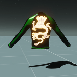 Dragon Jacket Green/Black