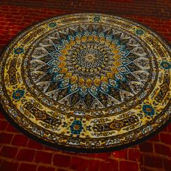 Elegant Fancy Circle Rug