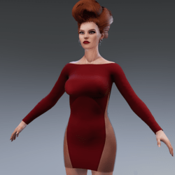 Amaryllis Red Dress