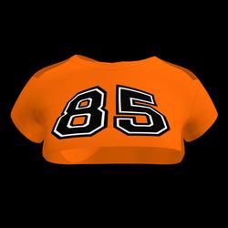 Sexy 85 Crop Top (Orange)