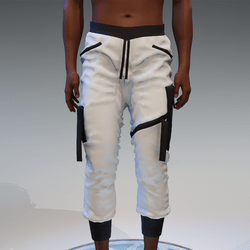 Cargo Pants for male in black & white