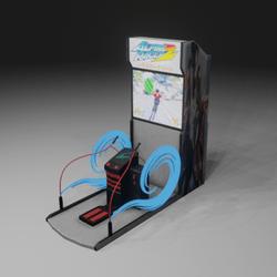 Gaming Machine Skiing
