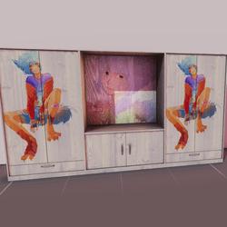 Domestic closet - otaku (interactive)