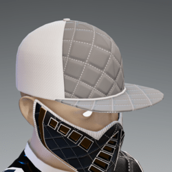 Gray and White Scorpion Cap