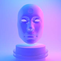 Male Mask - mental.os() Universe