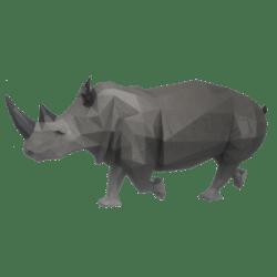 Running Rhinoceros