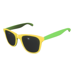 Sunglasses Yellow Green - Female