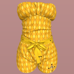 GABRIELLE OUTFIT_ YELLOW_