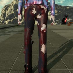 Cop Pants for Zombie Avatar