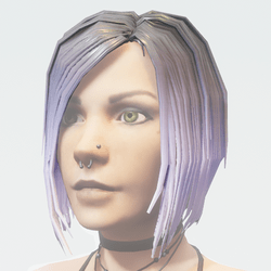 Hair Female - Short Bobcut with Highlights